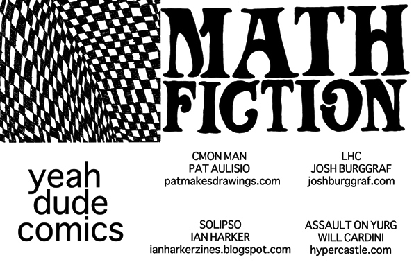 Math Fiction Title Card