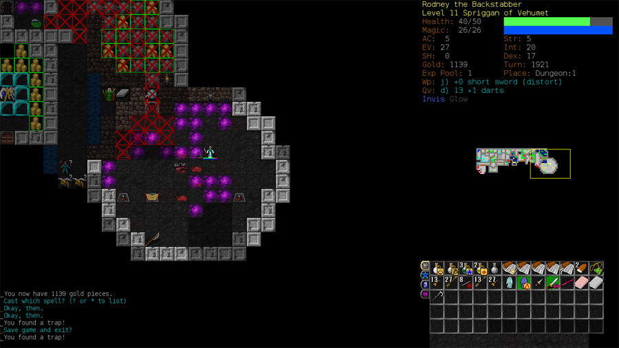 Dungeon Crawl Stone Soup + Fort Thunder = Procedurally Generated