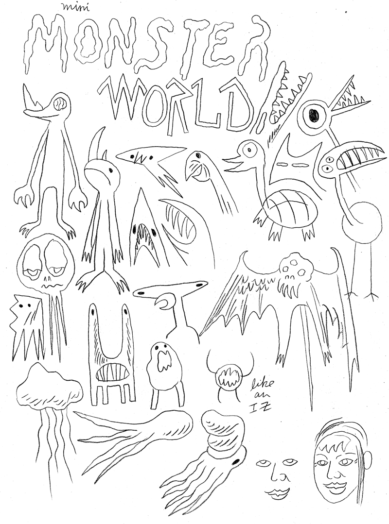 Mini Monster Sketches