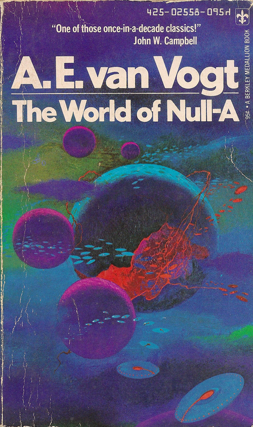 Paul Lehr cover of The World of Null-A by A. E. van Vogt