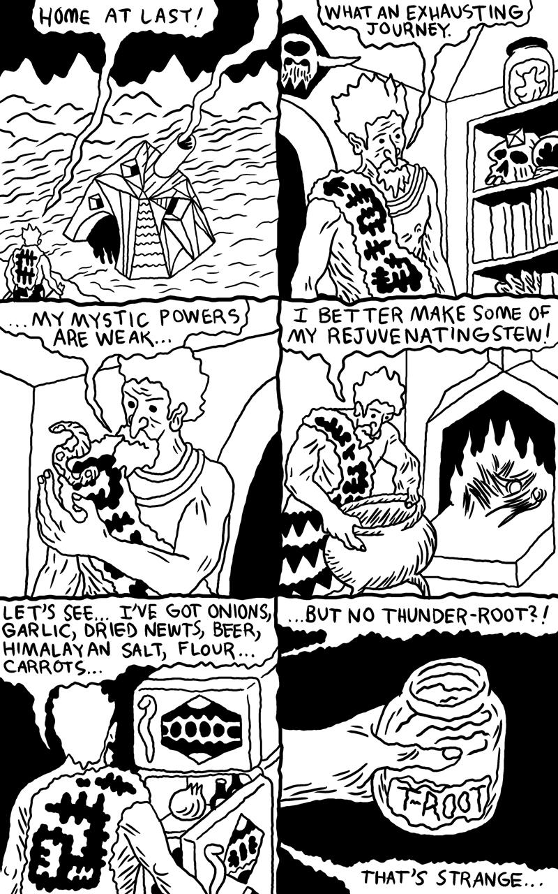 Shaman Thunder page 1