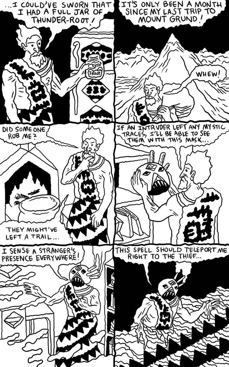 Shaman Thunder page 2
