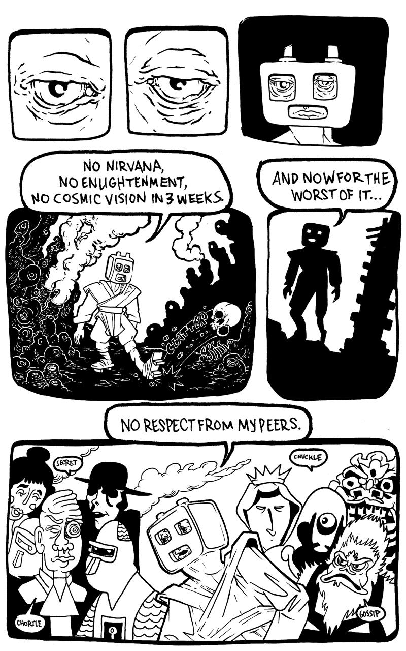 Shaman Thunder page 3