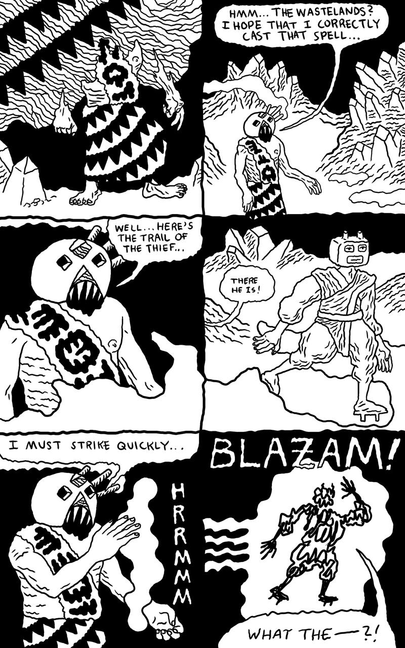 Shaman Thunder page 5