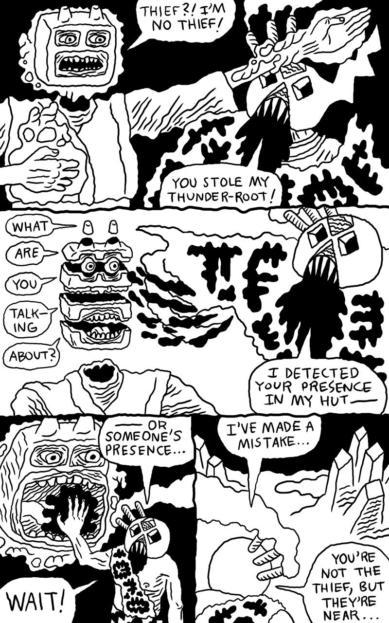 Shaman Thunder page 7