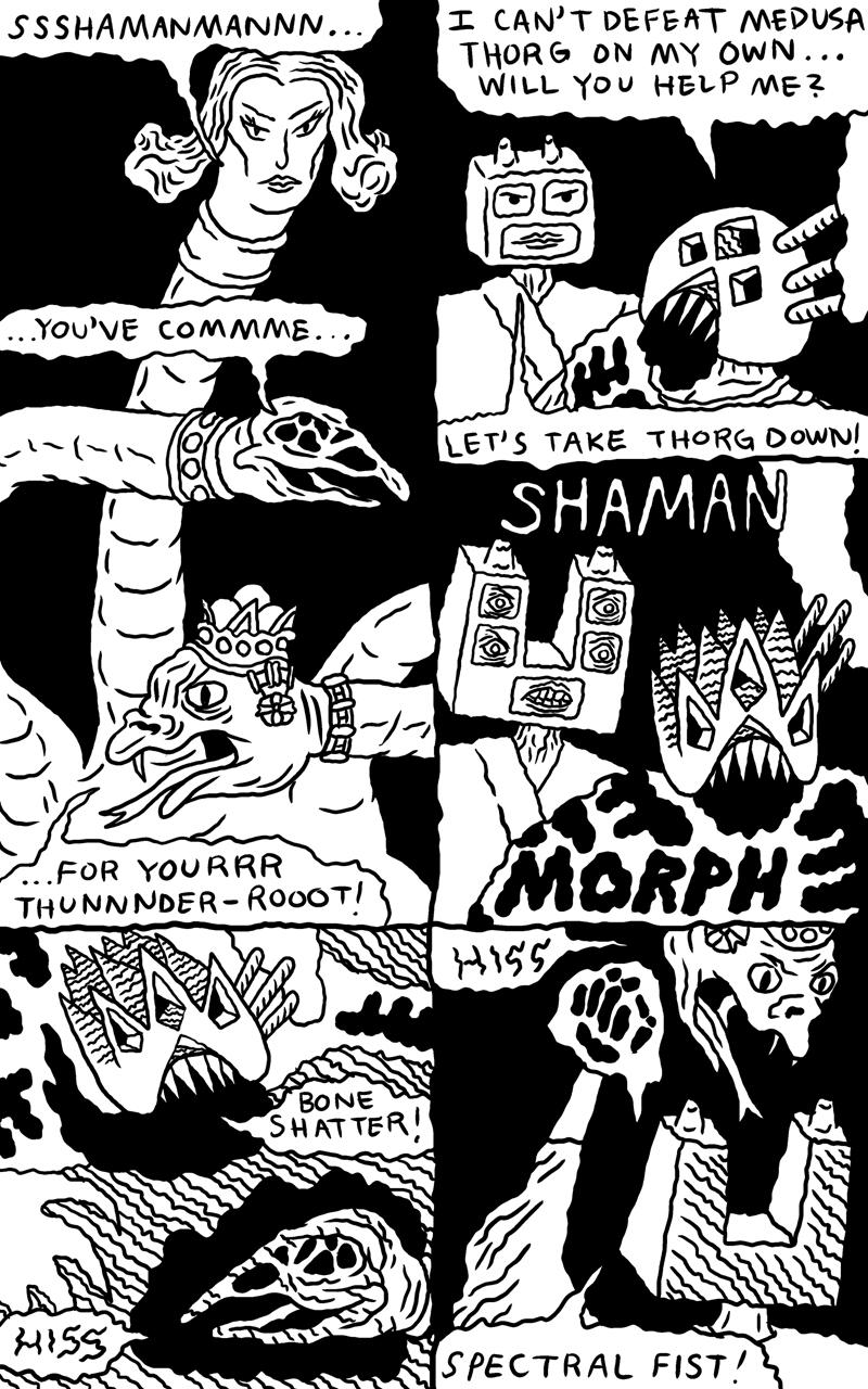 Shaman Thunder page 9