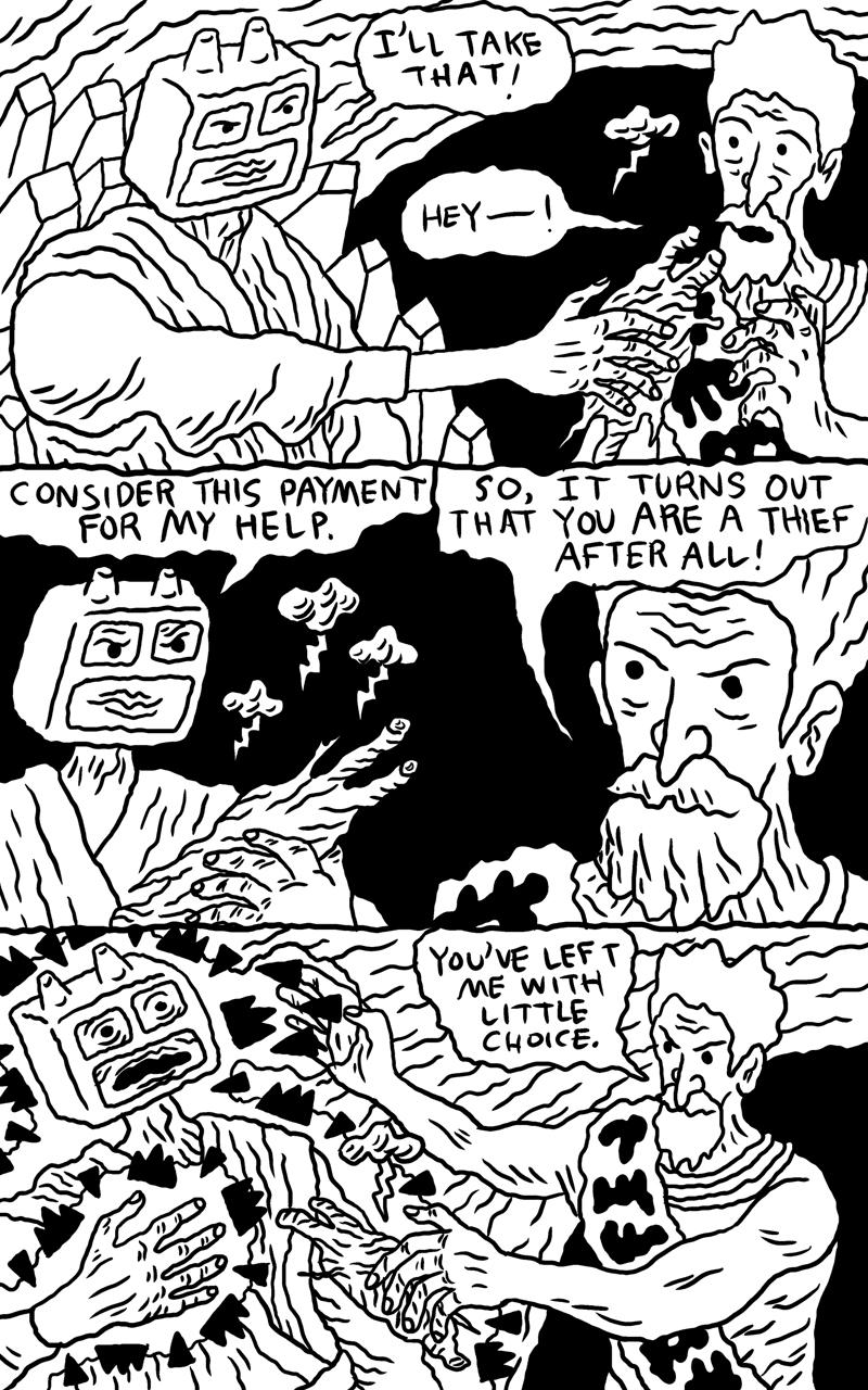 Shaman Thunder page 11