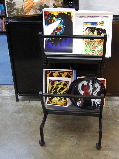 Austin Books print rack