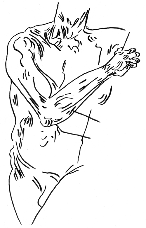 Mark Hensel figure drawing