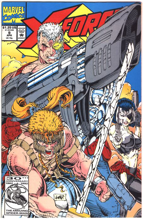 X-Force #9 Cover by Rob Liefeld