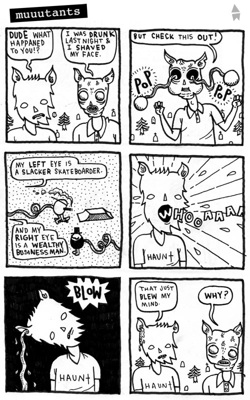 Aaron Whitaker comic