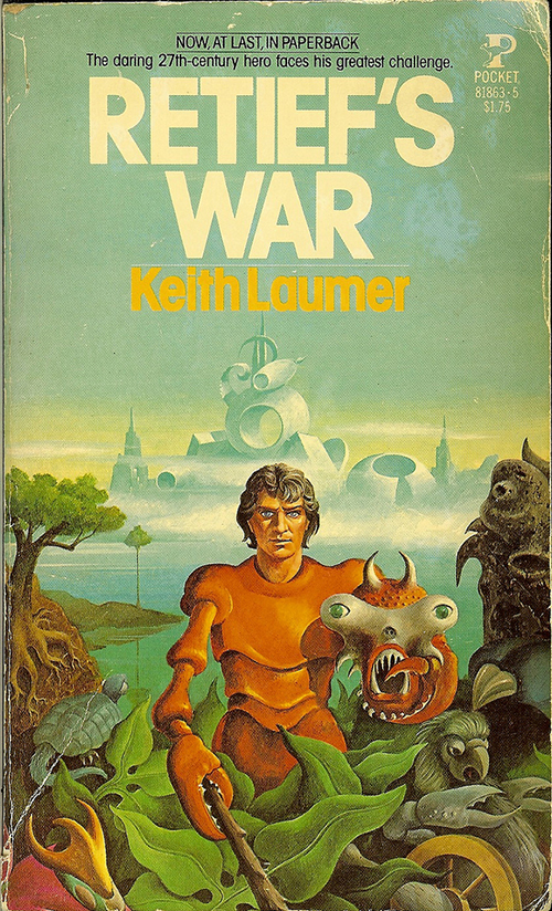 Retief's War by Keith Laumer, cover by Carlos Victor Ochagavia