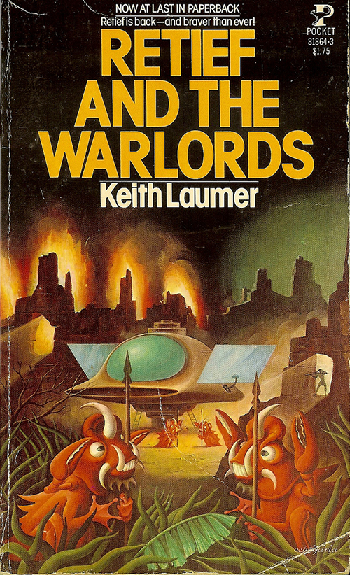 Retief and the Warlords by Keith Laumer, cover by Carlos Victor Ochagavia