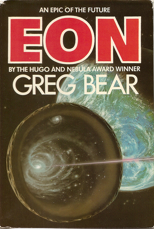 Eon by Greg Bear, cover by Ron Miller