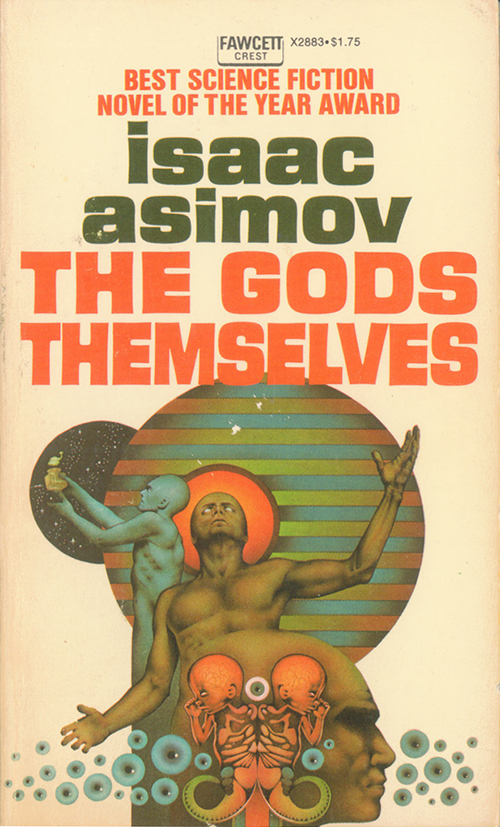The Gods Themselves by Isaac Asimov Cover by Charles Moll