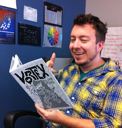 Grant Davis with Vortex #2