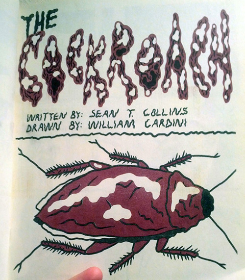 The Cockroach by Collins and Cardini title page