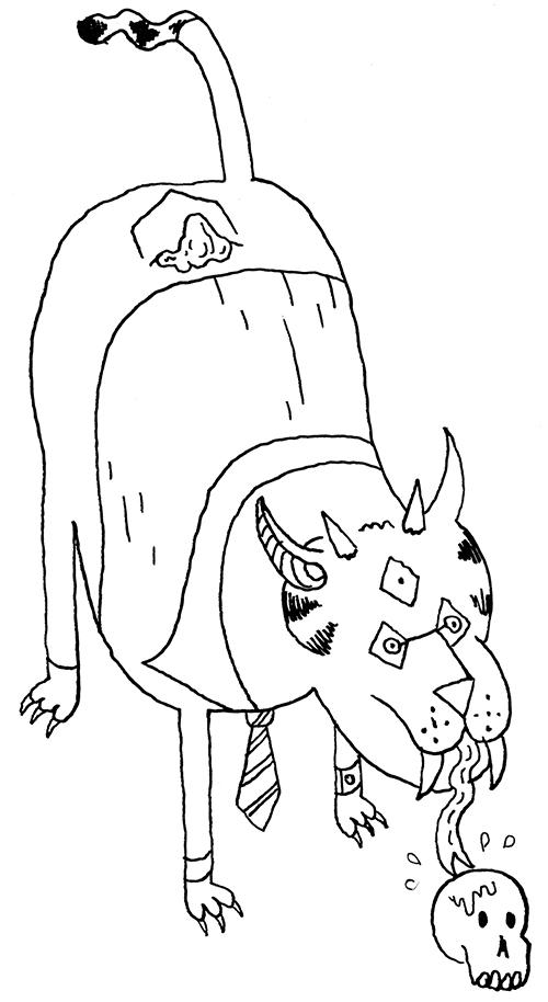 Five-Eyed Cat Demon #2