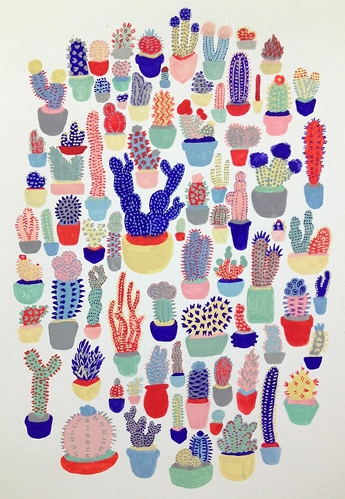 Cactus Club by Melinda Tracy Boyce