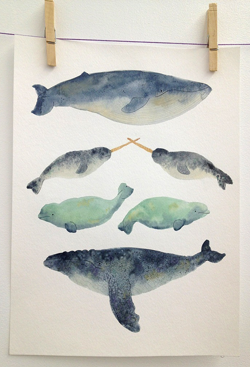 Whale Sandwich by Melinda Tracy Boyce