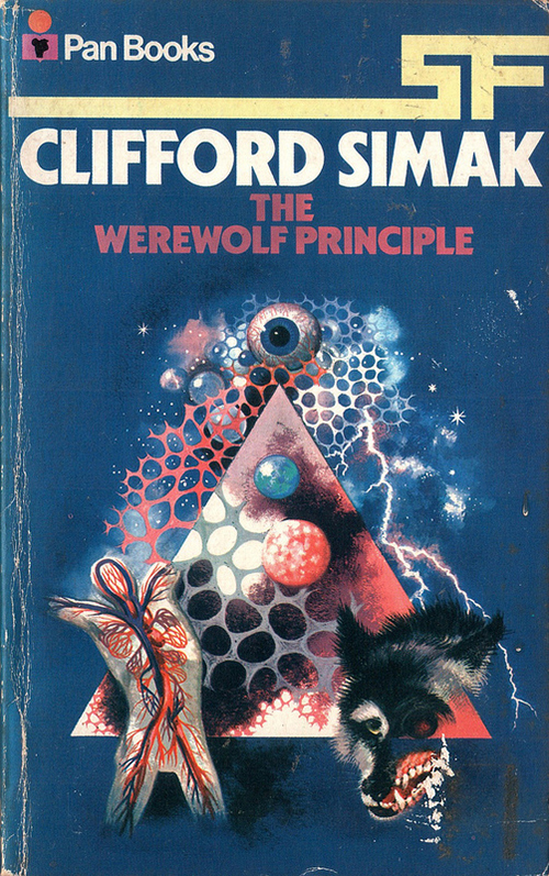 The Werewolf Principle by Clifford D Simak, Cover Artist Unknown
