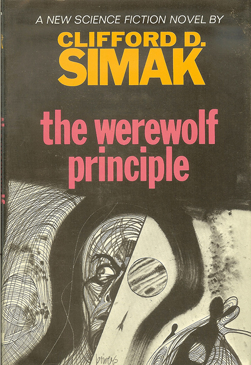 The Werewolf Principle by Clifford D Simak, cover by Richard M Powers