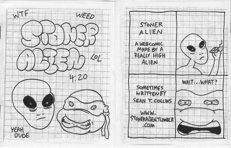 Origin of Stoner Alien minicomic