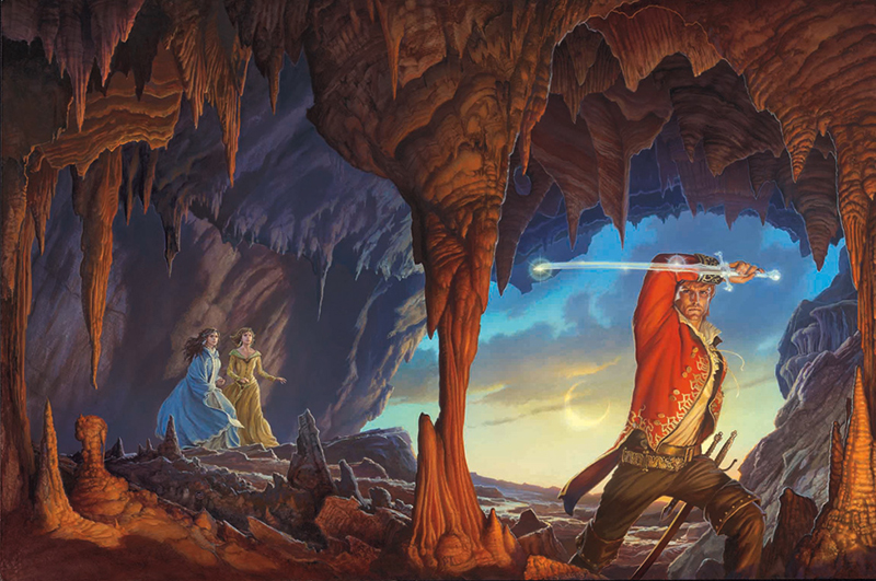 Michael Whelan A Memory of Light cover painting