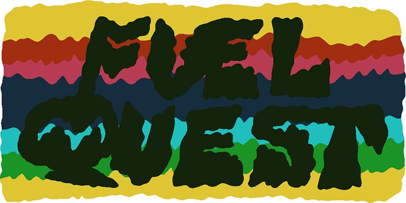 William Cardini Fuel Quest title panel