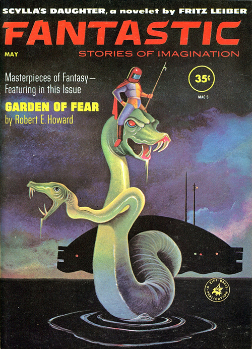 Vernon Kramer Fantastic Magazine cover illustration