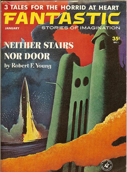 Vernon Kramer Fantastic Magazine cover illustration