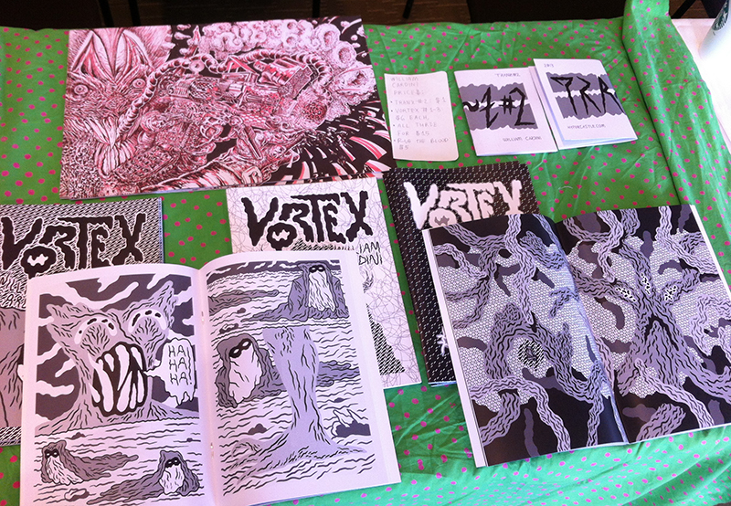William Cardini TCAF 2013 table