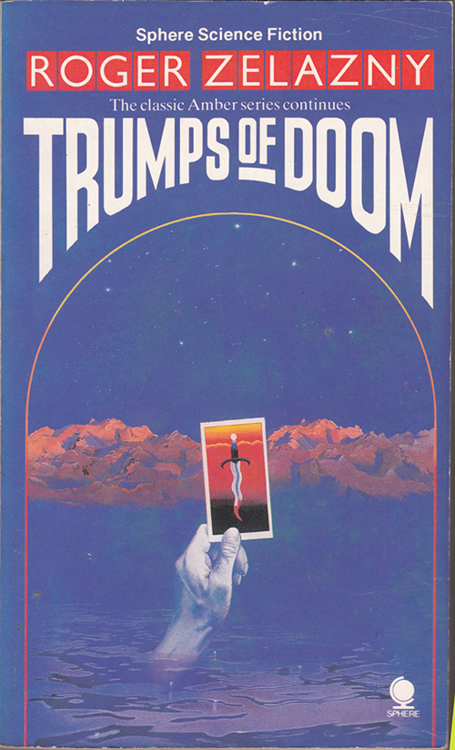 Trumps of Doom by Zelazny, cover by Geoff Taylor
