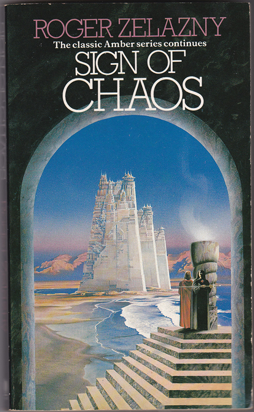 Sign of Chaos by Zelazny, cover by Geoff Taylor
